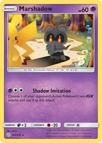 Marshadow, Pokemon, SM - Cosmic Eclipse