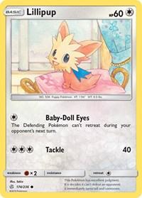 Lillipup, Pokemon, SM - Cosmic Eclipse
