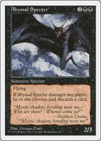 Abyssal Specter, Magic, Fifth Edition