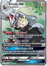 Silvally GX (Full Art), Pokemon, SM - Cosmic Eclipse