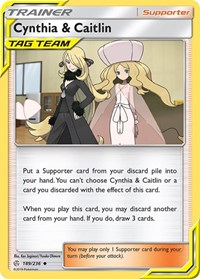 Cynthia & Caitlin, Pokemon, SM - Cosmic Eclipse