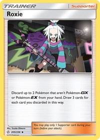 Roxie, Pokemon, SM - Cosmic Eclipse