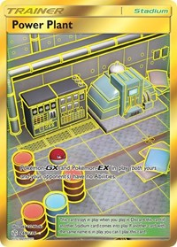 Power Plant (Secret), Pokemon, SM - Cosmic Eclipse