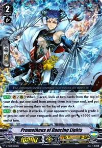 Prometheus of Dancing Lights (RRR Foil), Cardfight Vanguard, V-TD09: Shinemon Nitta