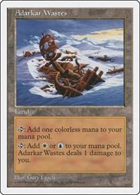 Adarkar Wastes, Magic: The Gathering, Fifth Edition