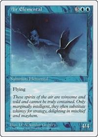 Air Elemental, Magic, Fifth Edition