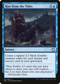 Rise from the Tides, Magic: The Gathering, Magic Game Night 2019