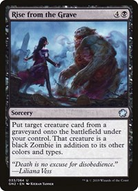 Rise from the Grave, Magic: The Gathering, Magic Game Night 2019