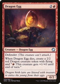 Dragon Egg, Magic: The Gathering, Magic Game Night 2019