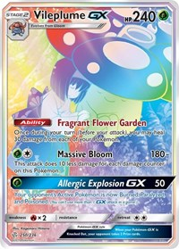 Vileplume GX (Secret), Pokemon, SM - Cosmic Eclipse