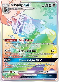 Silvally GX (Secret), Pokemon, SM - Cosmic Eclipse