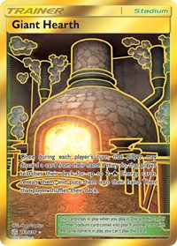 Giant Hearth (Secret), Pokemon, SM - Cosmic Eclipse