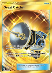 Great Catcher (Secret), Pokemon, SM - Cosmic Eclipse