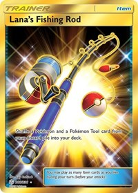 Lana's Fishing Rod (Secret), Pokemon, SM - Cosmic Eclipse