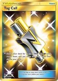 Tag Call (Secret), Pokemon, SM - Cosmic Eclipse