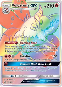 Volcarona GX (Secret), Pokemon, SM - Cosmic Eclipse
