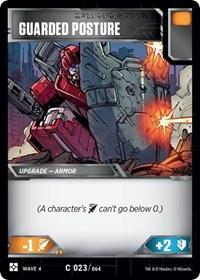 Guarded Posture, Transformers TCG, War for Cybertron: Siege II