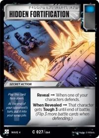 Hidden Fortification, Transformers TCG, War for Cybertron: Siege II