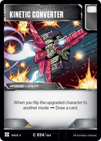 Kinetic Converter, Transformers TCG, War for Cybertron: Siege II