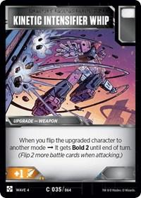 Kinetic Intensifier Whip, Transformers TCG, War for Cybertron: Siege II