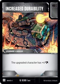 Increased Durability, Transformers TCG, War for Cybertron: Siege II