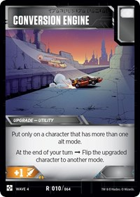 Conversion Engine, Transformers TCG, War for Cybertron: Siege II