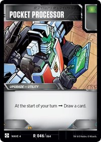 Pocket Processor, Transformers TCG, War for Cybertron: Siege II