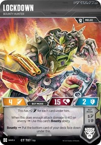 Lockdown - Bounty Hunter, Transformers TCG, War for Cybertron: Siege II