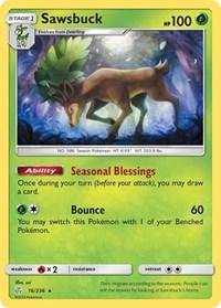Sawsbuck, Pokemon, SM - Cosmic Eclipse