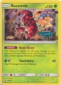 Buzzwole - SM218 (Prerelease Promo) [Staff], Pokemon, SM Promos