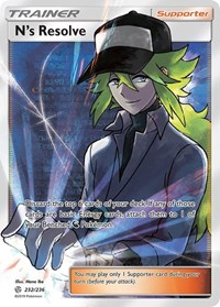 N's Resolve (Full Art), Pokemon, SM - Cosmic Eclipse