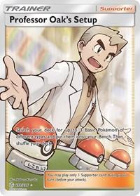 Professor Oak's Setup (Full Art), Pokemon, SM - Cosmic Eclipse
