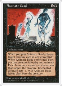 Animate Dead, Magic: The Gathering, Fifth Edition