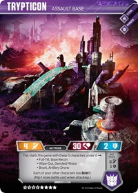 Trypticon - Assault Base, Transformers TCG, War for Cybertron: Siege II