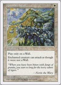 Animate Wall, Magic: The Gathering, Fifth Edition