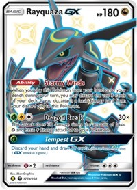 Rayquaza GX - 177a/168, Pokemon, Alternate Art Promos