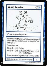Loopy Lobster, Magic: The Gathering, Mystery Booster: Convention Edition Exclusives