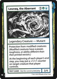 Louvaq, the Aberrant, Magic: The Gathering, Mystery Booster: Convention Edition Exclusives