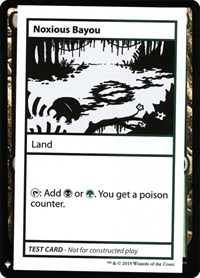 Noxious Bayou, Magic: The Gathering, Mystery Booster: Convention Edition Exclusives