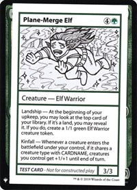 Plane-Merge Elf, Magic: The Gathering, Mystery Booster: Convention Edition Exclusives
