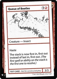 Queue of Beetles, Magic: The Gathering, Mystery Booster: Convention Edition Exclusives