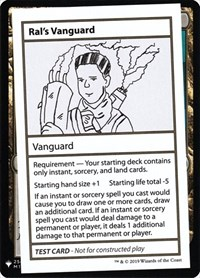 Ral's Vanguard, Magic: The Gathering, Mystery Booster: Convention Edition Exclusives