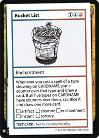 Bucket List, Magic: The Gathering, Mystery Booster: Convention Edition Exclusives