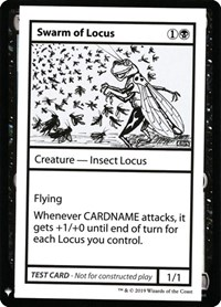 Swarm of Locus, Magic: The Gathering, Mystery Booster: Convention Edition Exclusives