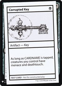 Corrupted Key, Magic: The Gathering, Mystery Booster: Convention Edition Exclusives