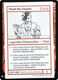 Tibalt the Chaotic, Magic: The Gathering, Mystery Booster: Convention Edition Exclusives