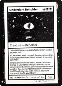 Underdark Beholder, Magic: The Gathering, Mystery Booster: Convention Edition Exclusives