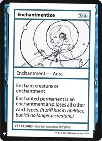 Enchantmentize, Magic, Mystery Booster: Convention Edition Exclusives