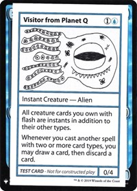 Visitor from Planet Q, Magic: The Gathering, Mystery Booster: Convention Edition Exclusives