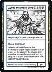 Zyym, Mesmeric Lord, Magic: The Gathering, Mystery Booster: Convention Edition Exclusives